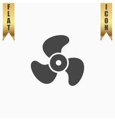 Propeller icon - vector