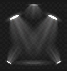 Spotlights scene light effects stage light vector