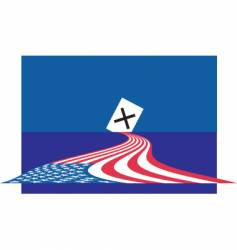 vote 2008 vector image