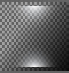 Scene illumination cold light effect vector