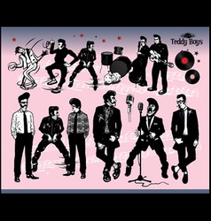 Rock  stars vector