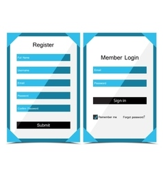 Forms login vector