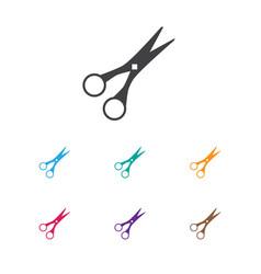 Of barbershop symbol on cut vector