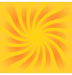 Yellow orange rays poster vector