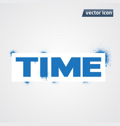 Time spray vector