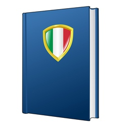 constitution of Italy vector image vector image