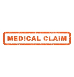 Medical Claim Rubber Stamp vector image vector image