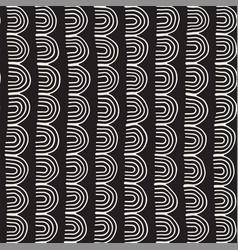 monochrome minimalistic tribal seamless pattern vector image vector image