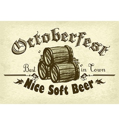 Octoberfest background rgb vector