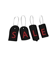 tags black Friday discount buy sale vector image