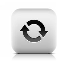 Arrow icon reload rotation loop refresh sign vector