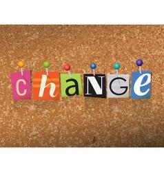 Change concept vector