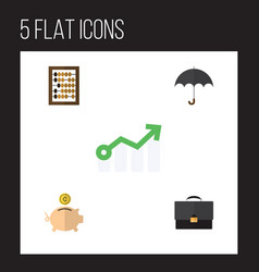 Flat incoming set of parasol growth portfolio vector