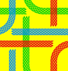 Seamless wallpaper tire tracks pattern background vector image