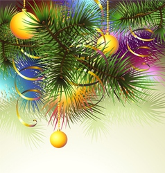 Christmas backgroung vector image