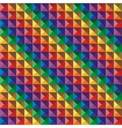 Abstract color geometric mosaic background vector