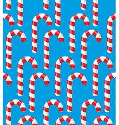 Red striped candy holiday christmas and new years vector
