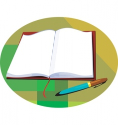 book vector image vector image