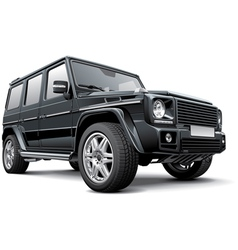 Germany full size SUV vector image vector image