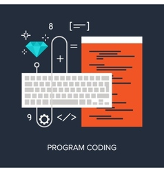 Program coding vector