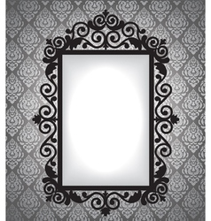 antique frame vintage background vector image vector image