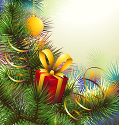 Christmas backgroung vector image vector image