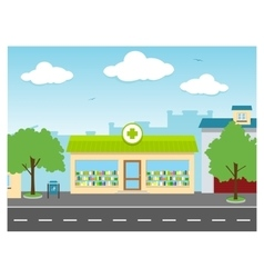 Drug store vector