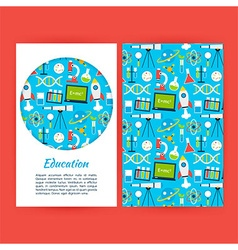 Education Banner Template vector image vector image