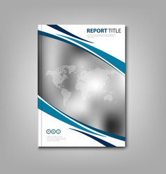 Brochures book or flyer with abstract stripes and vector