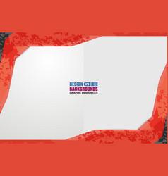 Border shape background grunge vector