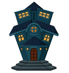 Old home cartoon vector