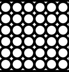 seamless pattern geometric tiles circles rings vector image vector image