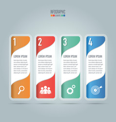 Creative concept for infographic business concept vector
