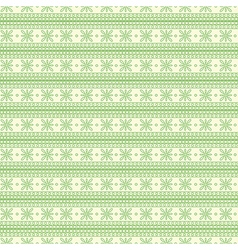 Pattern with green lines on the white backdrop vector