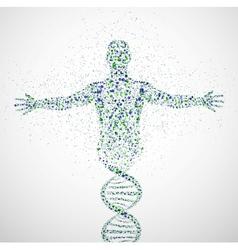 Prototype of man vector image