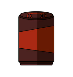soda can isolated icon vector image