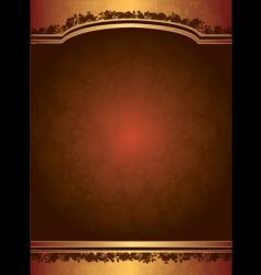 valentine rose background vector image vector image