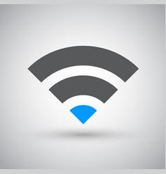 wifi network internet zone icon vector image