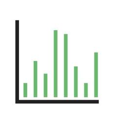 Column chart vector