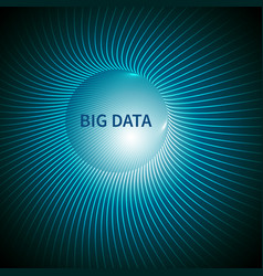 big data abstract background vector image vector image