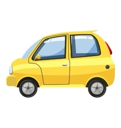 Car icon cartoon style vector image