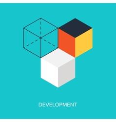 Development vector image vector image