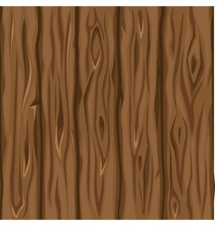 Wood texture old brown boards vector