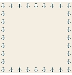 Anchor pattern background icon vector