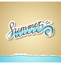 Summer eps 10 vector