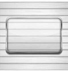Transaprent Glass Frame vector image