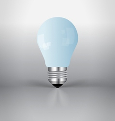 A light bulb vector image