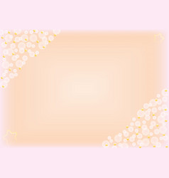 Abstract pastel background with bokeh vector