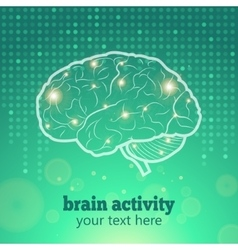 Human brain activity vector