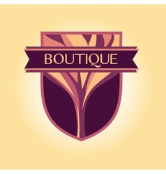 Style logo clothing accessories wood products vector